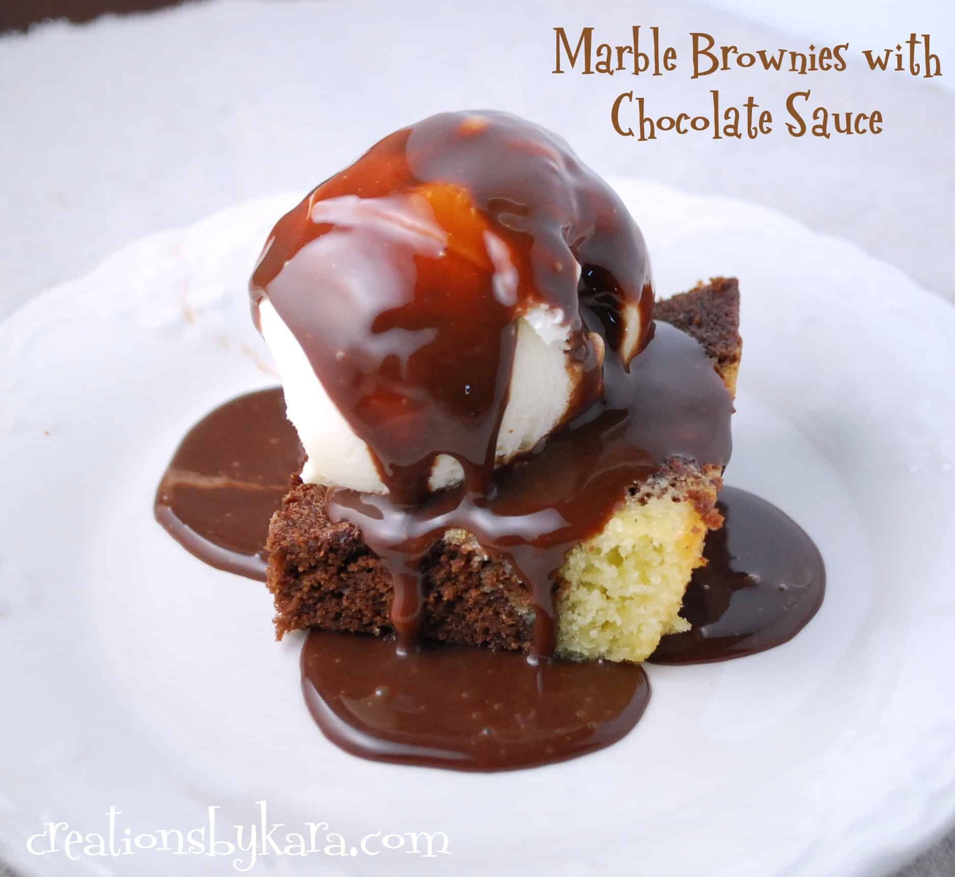 recipe-brownies, chocolate-sauce