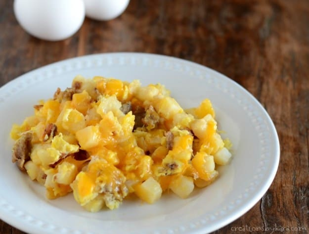 This recipe for breakfast hash is a family favorite!