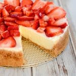 Basic cheesecake recipe in a springform pan