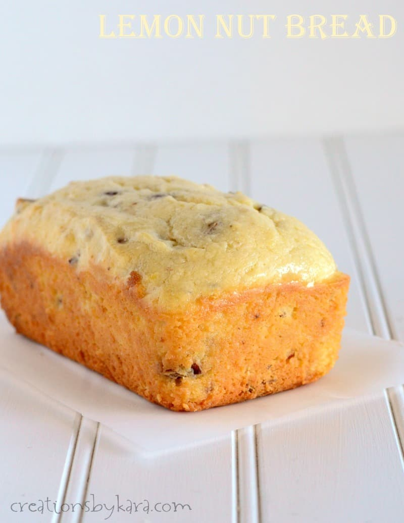 Pecan Lemon Bread