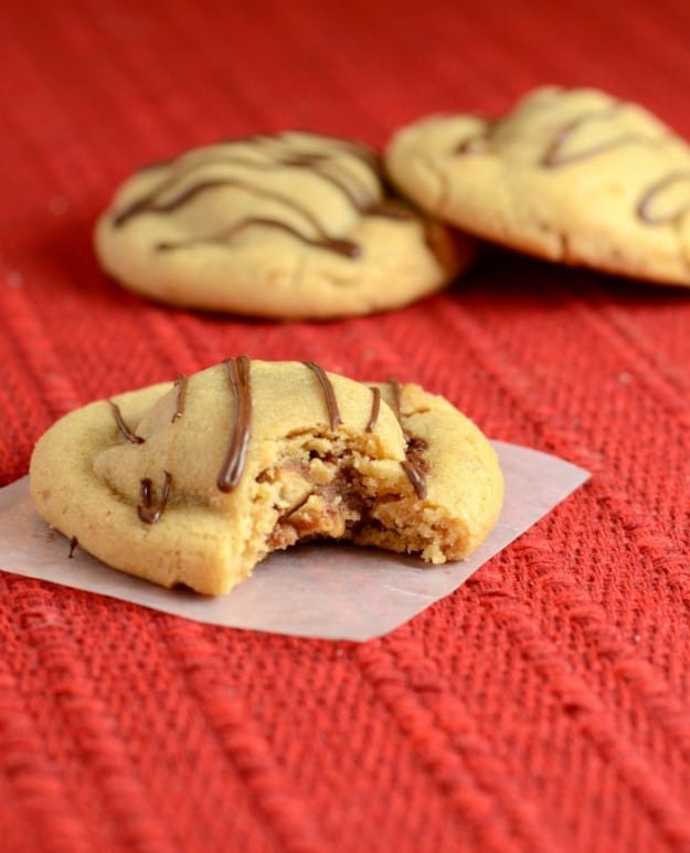 Diet -busting Peanut Butter Snickers Cookies