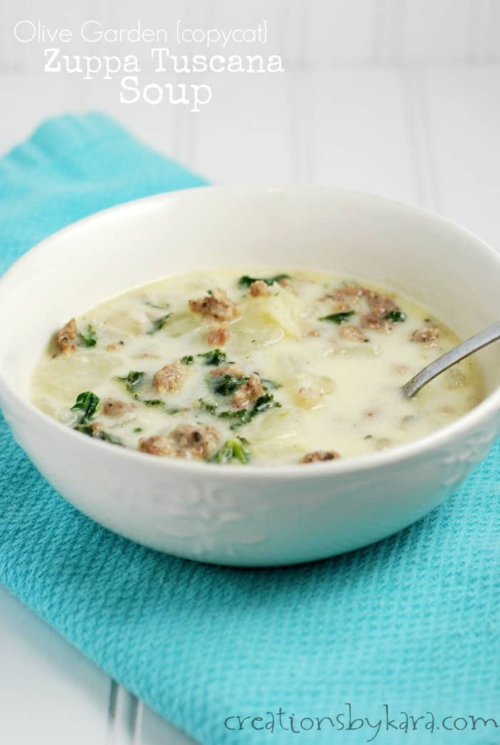 Zuppa Tuscana Soup Olive Garden At Home