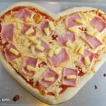 Valentine Recipe #4–Heart Shaped Homemade Pizza