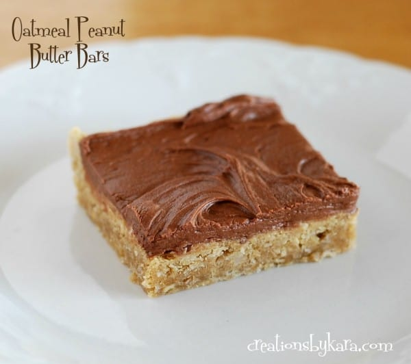 oatmeal-peanut-butter-bars, recipe