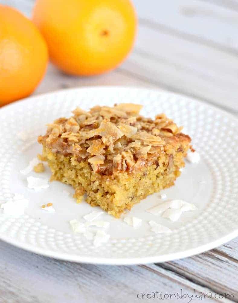 Whole Orange Cake Recipe