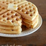 Fast, easy, and delicious waffle recipe