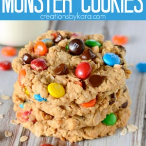 monster cookies pinterest title photo