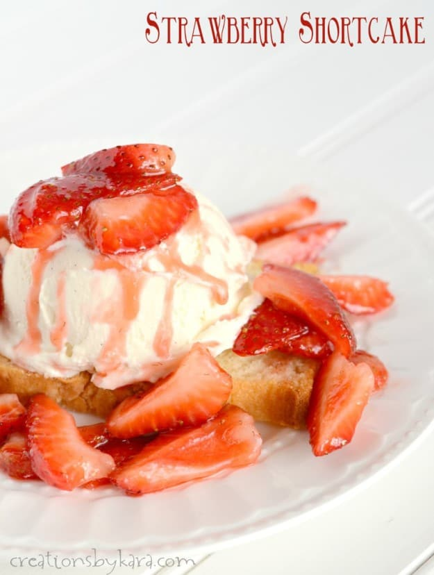 The best recipe for Strawberry Shortcake you will ever make!