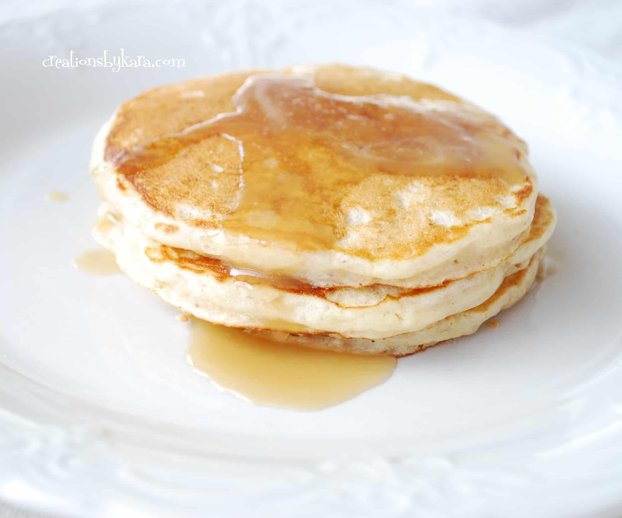 banana pecan pancakes 006 - Creations by Kara