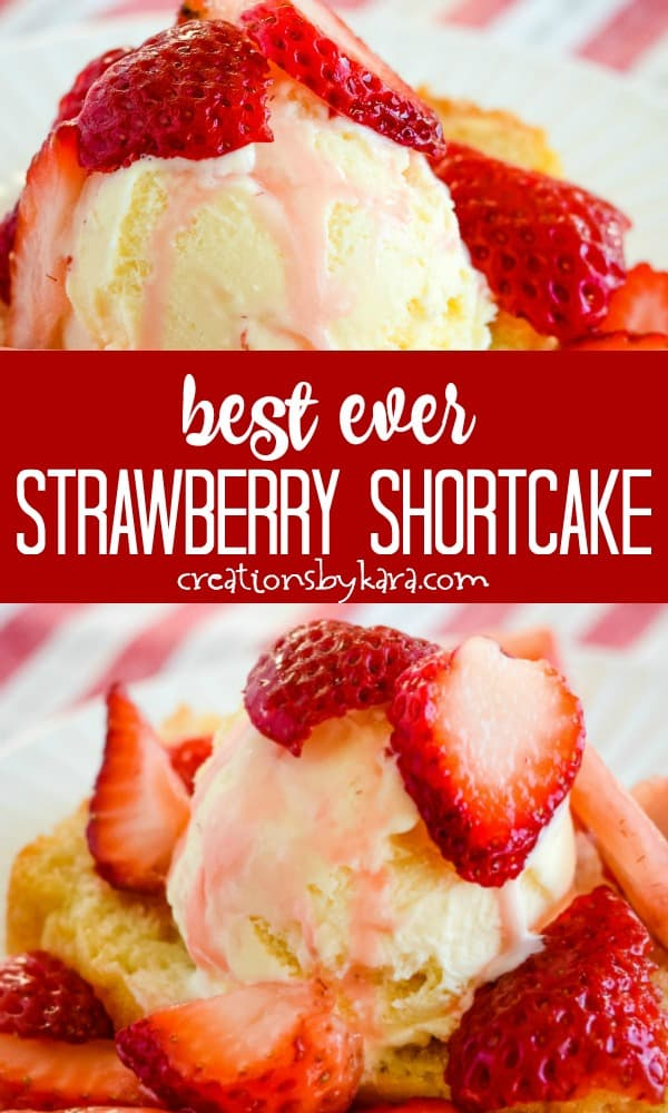 best ever strawberry shortcake recipe collage