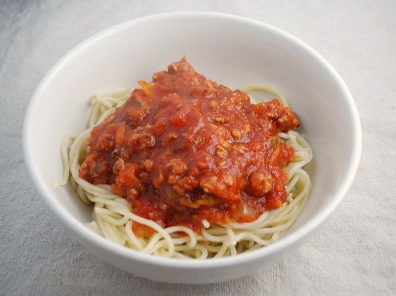 spaghetti sauce-recipe