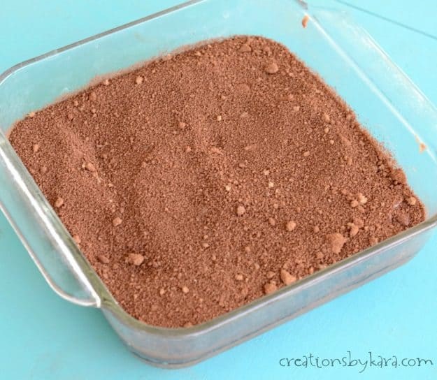 Recipe for Hot Fudge Cake