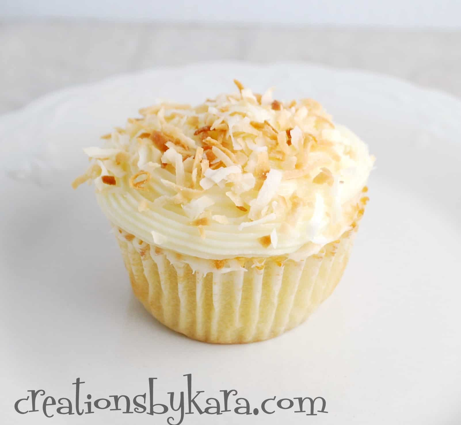 Chocolate Coconut Creams Dunmore Candy Kitchen: Coconut Cupcakes With Cream Cheese Frosting