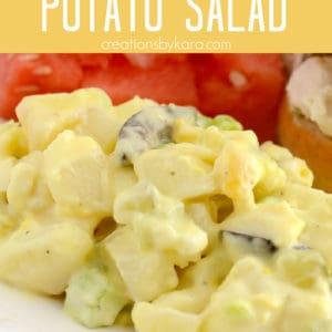secret ingredient potato salad recipe Pinterest Pin