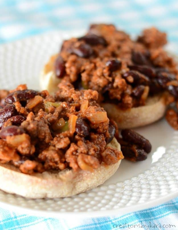 My family likes these Bacon BBQ Sandwiches even better than sloppy joes. A tasty family dinner recipe idea.