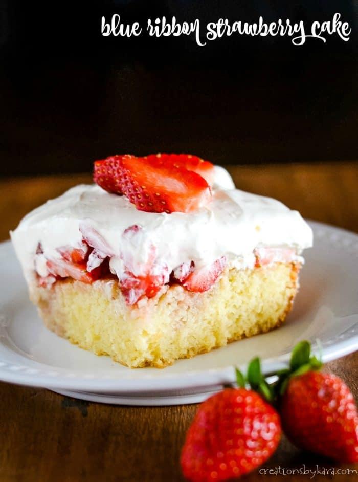 blue ribbon strawberry cake title photo