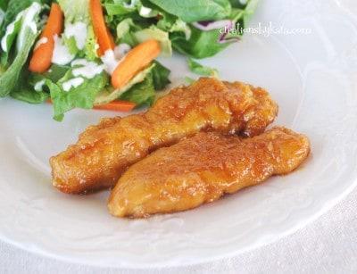 honey chicken-recipe