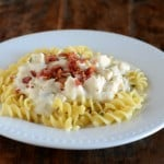Creamy Chicken Pasta with Bacon and Ranch