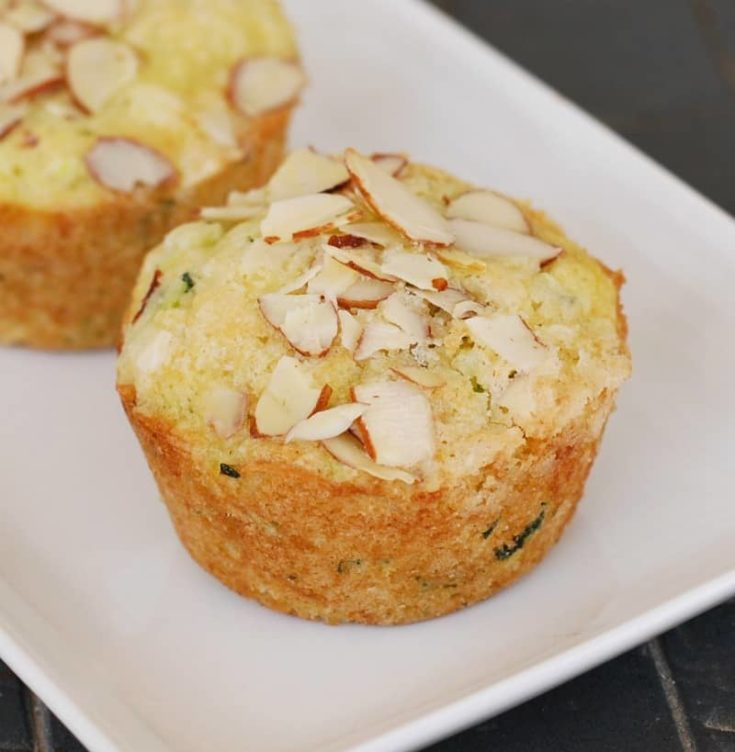 Lime Zucchini Muffins