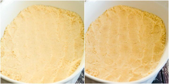 crust for mock apple crisp AKA zucchini cobbler