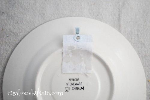 diy-how to hang plates