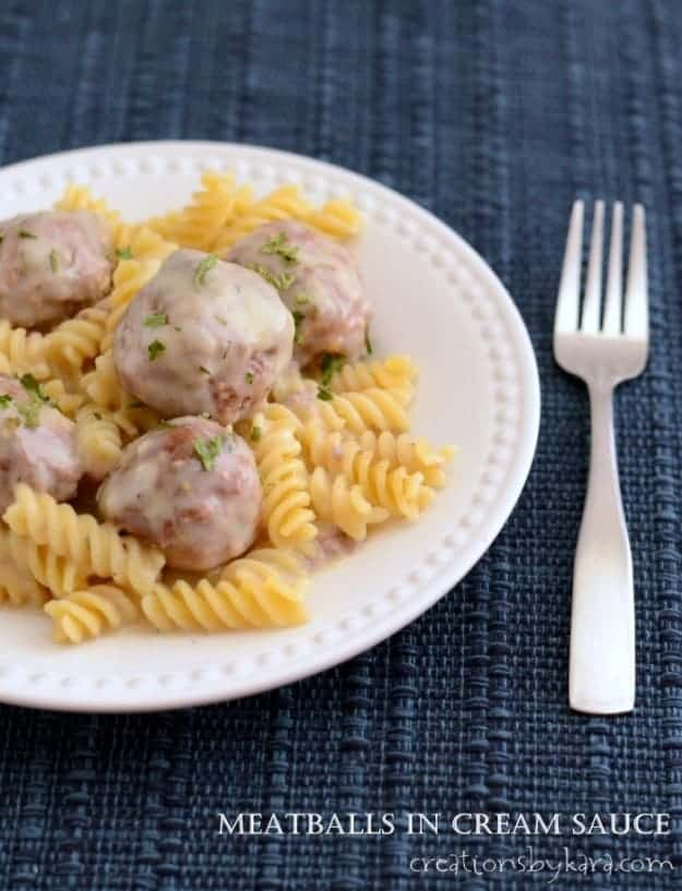 Our favorite meatball recipe- they even freeze well!