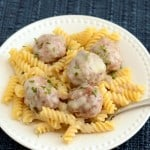 Meatballs in Cream Sauce