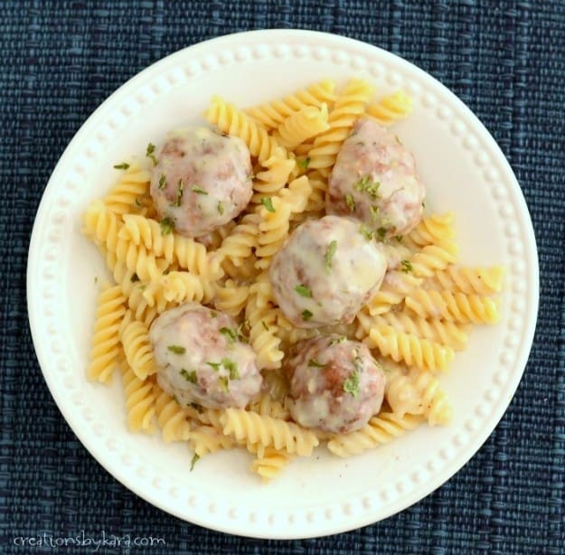 Meatballs in Cream Sauce