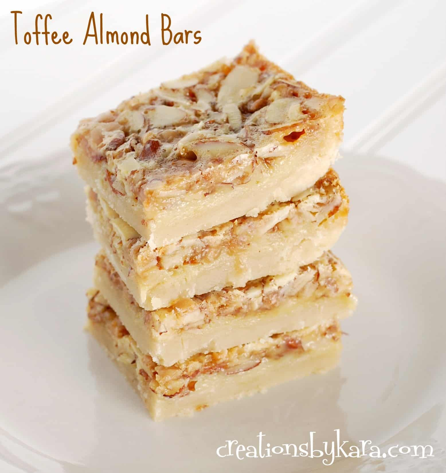 almond-bars, recipe