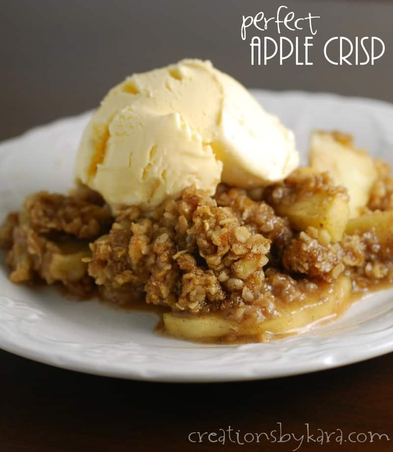 recipe: delicious apple crisp recipe [9]