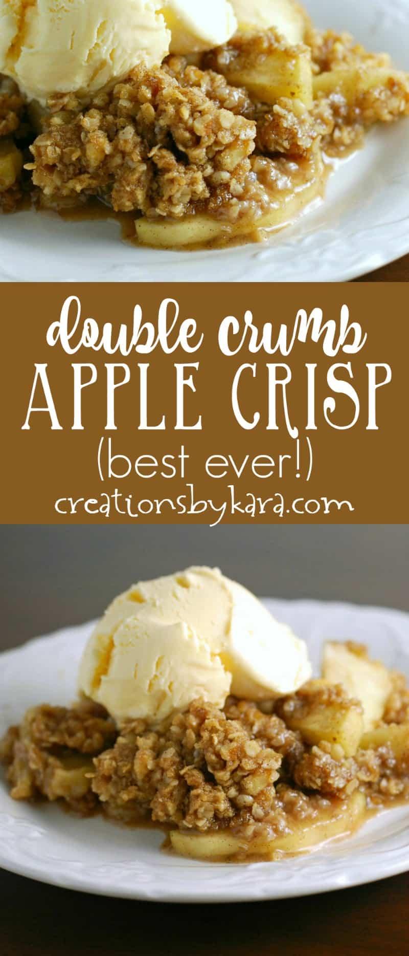 Double Crumb Apple Crisp