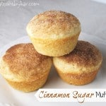 Cinnamon Sugar Muffins (French Breakfast Puffs)