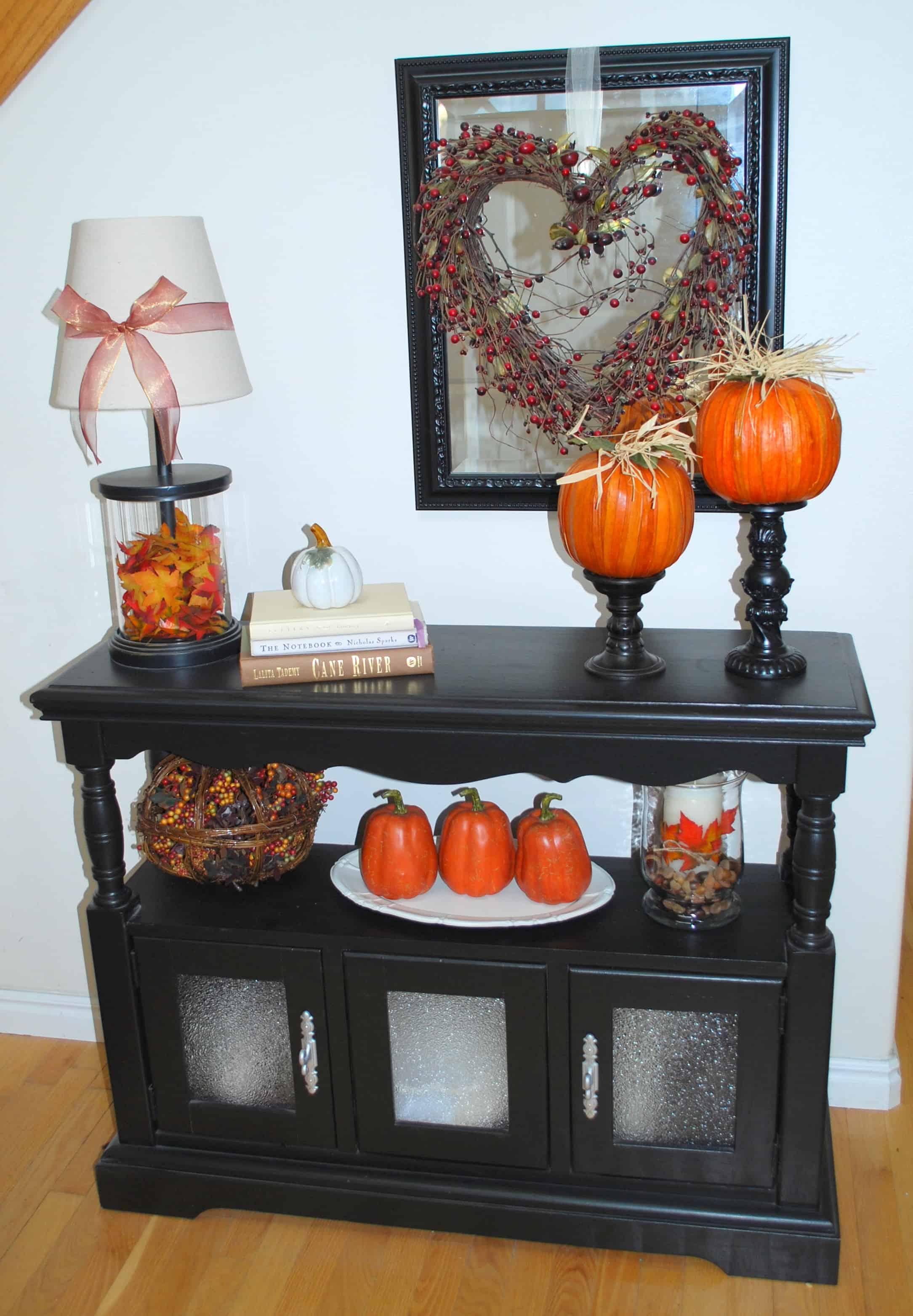 Foyer Entrance Yeast : Fall home decor