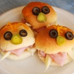 Halloween Recipe- Monster Sandwiches