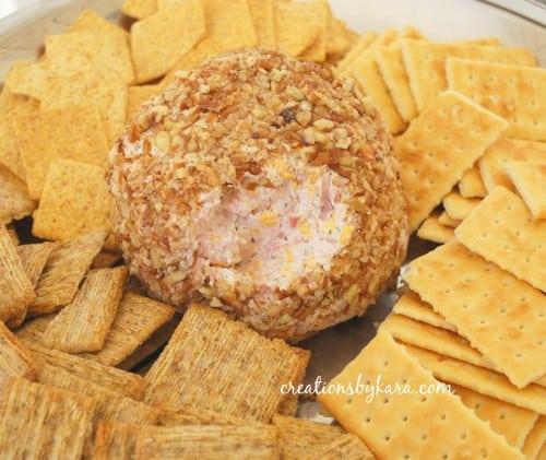 ham cheese ball-recipe