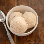 Recipe for homemade cinnamon ice cream.