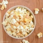 This sweet and salty White Chocolate Snack Mix is always a hit!