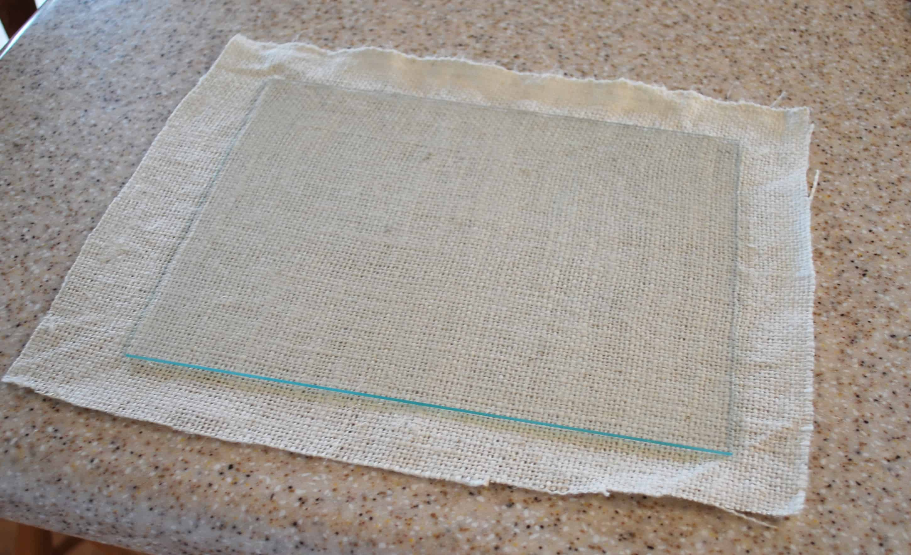 Decorating Idea-- Clothes Pin Burlap Frames