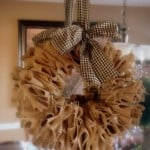 I Just Gotta Make This!–Burlap Wreath