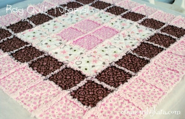 Baby Rag Quilt Tutorial : rag quilt patterns - Adamdwight.com