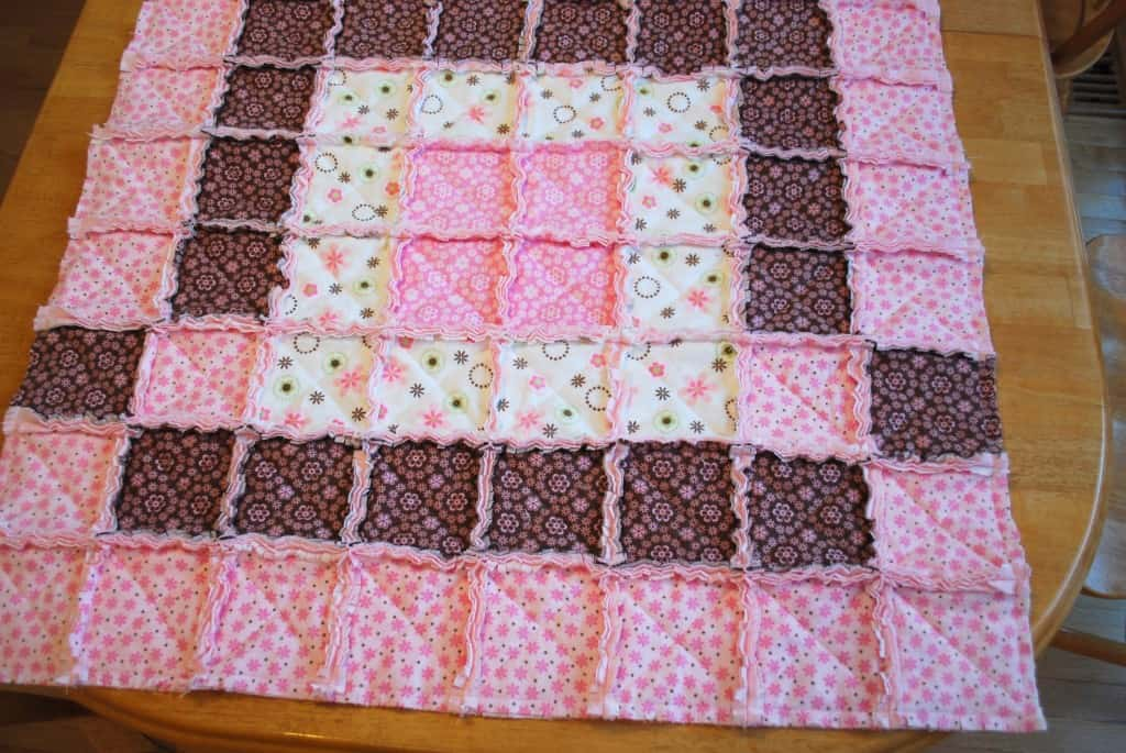 Baby Rag Quilt Tutorial : rag quilts for beginners - Adamdwight.com