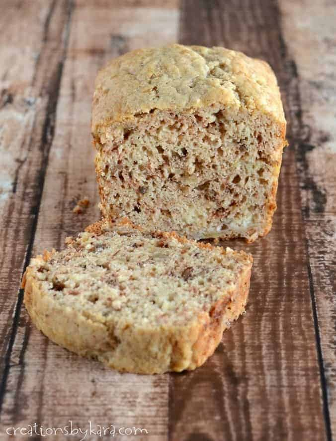 Sour Cream Banana Bread or Muffins