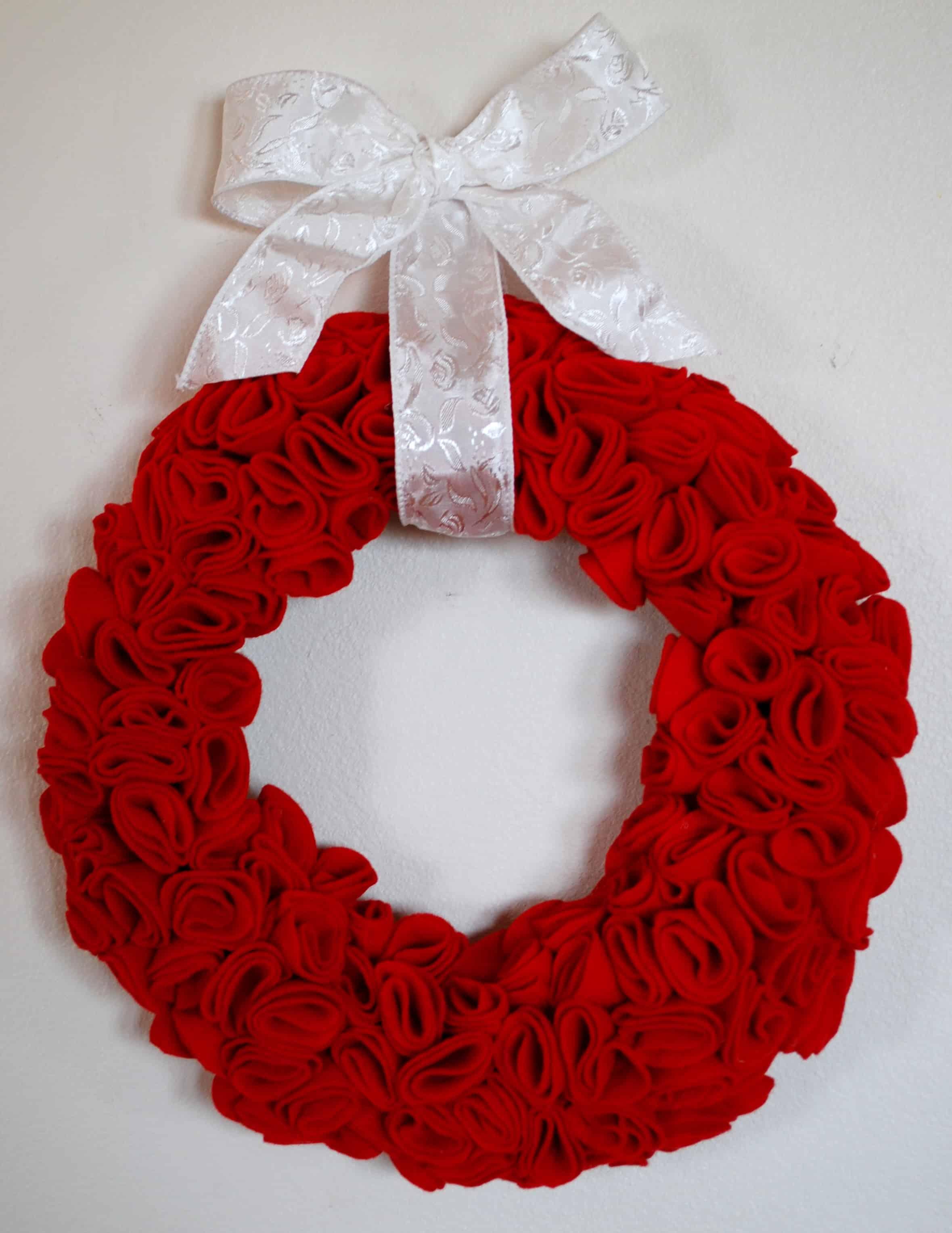 Rose Wreath Decor