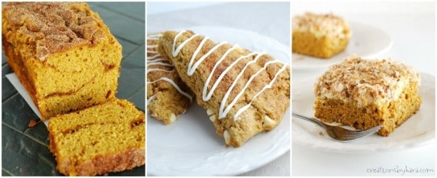 pumpkin recipes- pumpkin bread