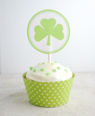 st. patrick's cupcake toppers 013