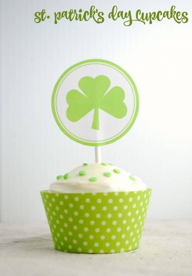 Recipe for St. Patrick's Day Cupcakes