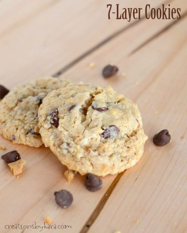 Coconut Graham Chocolate Chip Cookies (Donna's Heavenly Cookies)