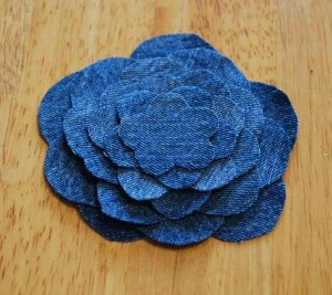 denim flower-tutorial