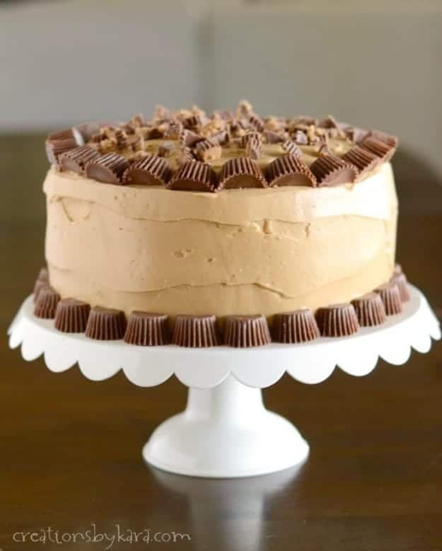 Reeses Peanut Butter Chocolate Cake