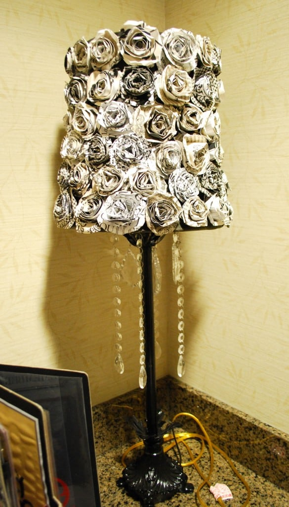 decorating-rosette-lampshade